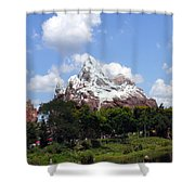 Expedition Everest Shower Curtain