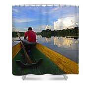 Exploring Amazonia Shower Curtain