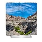 Exploring The Badlands Shower Curtain