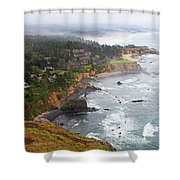 Exploring The Oregon Coast Shower Curtain