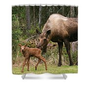 Exploring With Mom Shower Curtain