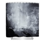 Explosive Sea Shower Curtain