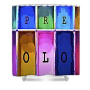 Express Color Shower Curtain