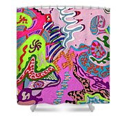 Expression Fantastic Shower Curtain