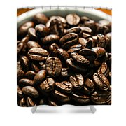 Expresso Beans Shower Curtain