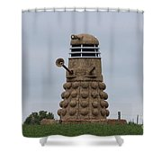 Exterminate  Shower Curtain