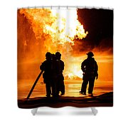 Extinguish Shower Curtain
