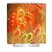 Extra Ball Time Shower Curtain