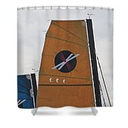 Extreme 40 Sail Detail Shower Curtain