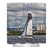 Extreme 40 Team China Spirit Shower Curtain