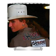 Extreme Beauty Shower Curtain