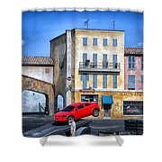 Extreme Stunt Show 2 Shower Curtain
