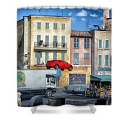 Extreme Stunt Show 3 Shower Curtain