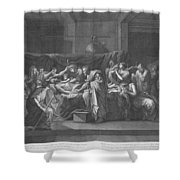 Extreme Unction Shower Curtain
