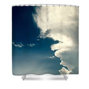 Extreme Weather On Its Way Shower Curtain