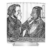 Eye Doctor, C1840 Shower Curtain