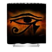 Eye Of Horus Eye Of Ra Shower Curtain
