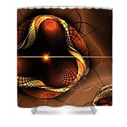 Eye Of The Bug... Shower Curtain