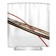 Eye Of The Needle Shower Curtain
