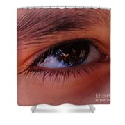 Eye On The Camera Shower Curtain