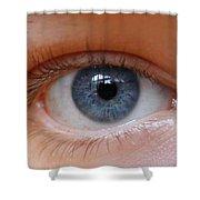Eye Phone Case Shower Curtain