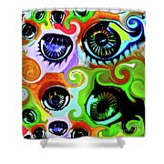 Eyecandy Shower Curtain