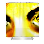 Eyes From The Inside 2 Shower Curtain