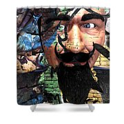 Eyes In Disguise  Shower Curtain