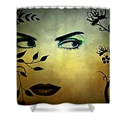 Eyes Of Mother Nature Shower Curtain