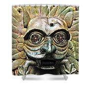 Eyes Of The Beast Shower Curtain