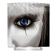 Eyes Of The Fool Shower Curtain