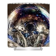 Eyes Of The Imagination Shower Curtain