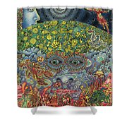 Eyes Of The Mind Shower Curtain