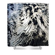 Eyjafjallajokull Glacier And Ashes Shower Curtain