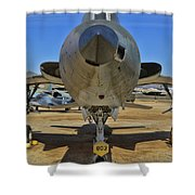 F-105b Tunderchief Shower Curtain