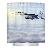 F-15 Eagle Shower Curtain