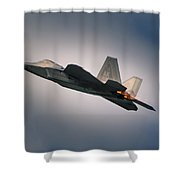 F-22 Shower Curtain