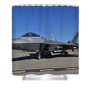 F-22 Raptor 2 Shower Curtain