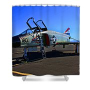 F-4 Phantom II No. 11 Shower Curtain
