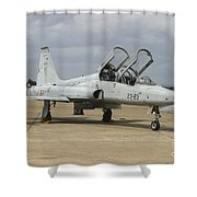 F-5 Tiger II Used As A Lead-in Trainer Shower Curtain