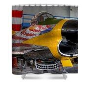 F-86 D Shower Curtain