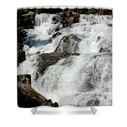 F Stop Glen Alpine Falls Shower Curtain
