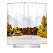 F00445-10jpg Shower Curtain