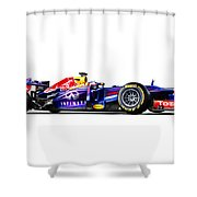 F1 Red Bull Rb9 Shower Curtain