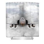 F4 Phantom Shower Curtain