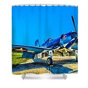 F4u Corsair My Marines Dream  Shower Curtain