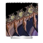 F927 Roots Shower Curtain