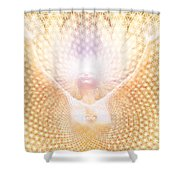 Fabric Of Life Shower Curtain