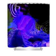 Fabrication Unit At Vector 7359 Shower Curtain