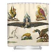 Fabulous Animals Shower Curtain